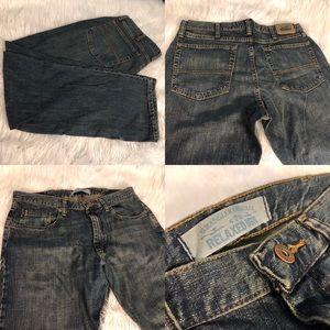 34x32 Wrangler Premium Relaxed Boot Jeans NWOT